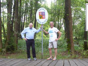 Start am Dreiländereck Bayern-Tschechien-Sachsen